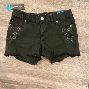 NWT Arita Jeans Black Jean shorts size 7/8